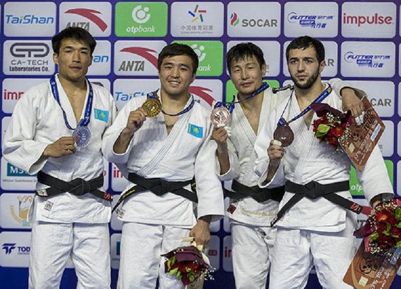 ФОТО: Қазақстан құрамасы дзюдодан Қытай Гран Приінен тағы 2 медаль жеңіп алды