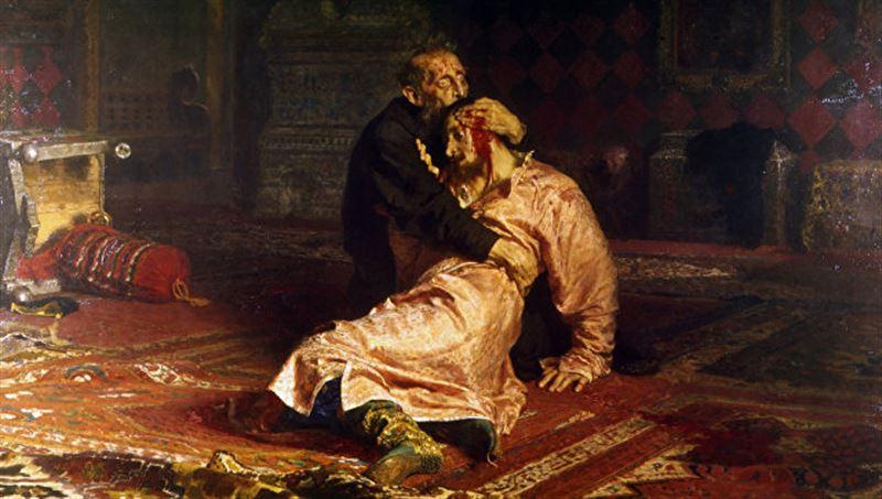 В Третьяковке вандал покалечил картину «Иван Грозный и его сын Иван»