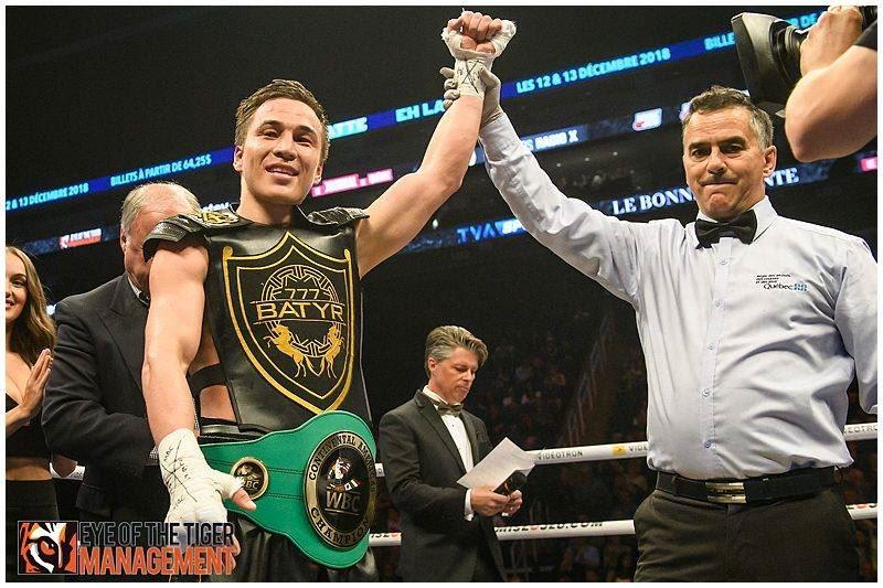 ФОТО: Батыр Жүкембаев WBC чемпионы атанды