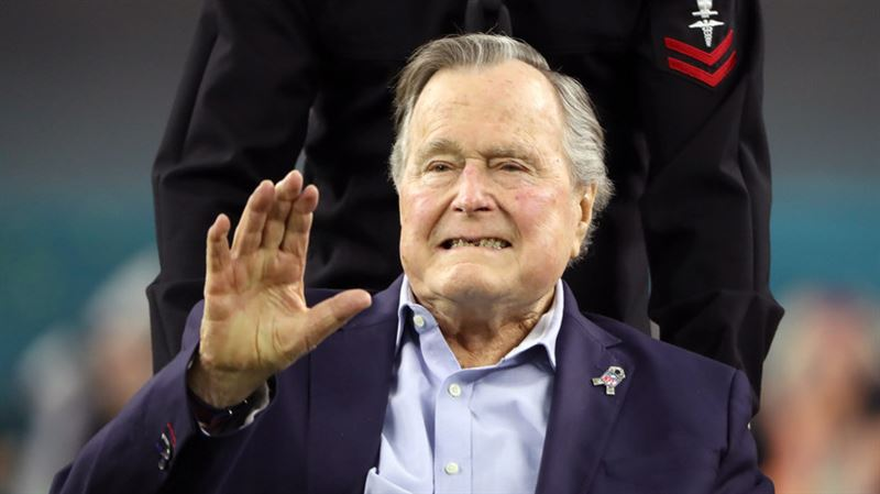 Экс-президент США Джордж Буш-старший экстренно госпитализирован