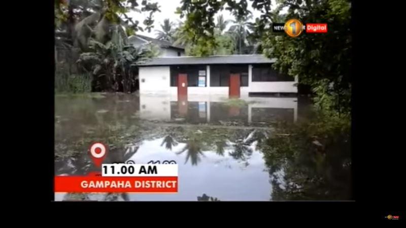 На Шри-Ланке из-за ливня и шторма погибли 23 человека