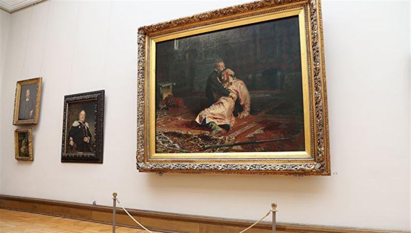 После нападения, картину «Иван Грозный» будут выставлять за бронированным стеклом