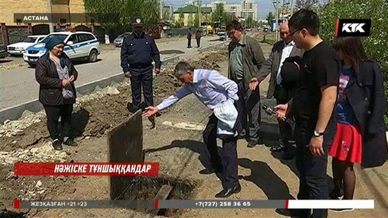 Астанада жер үйдің тұрғындары нәжіс исіне тұншығып отыр
