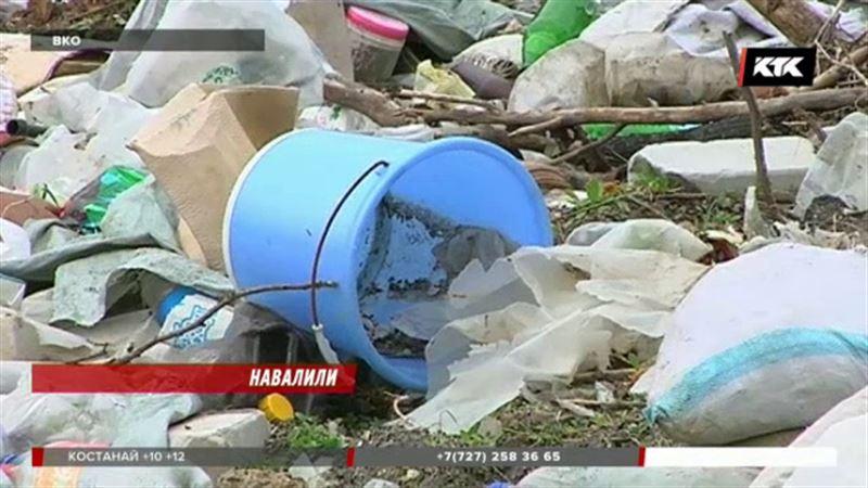 Огромная помойка в ВКО вызвала претензии экологов