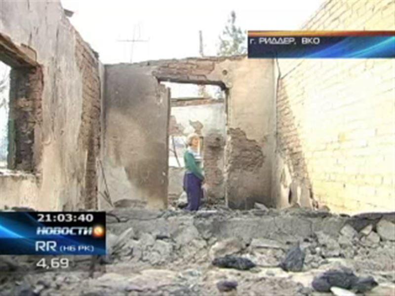 В Восточном Казахстане ликвидируют последствия крупных пожаров