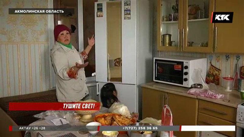 Акмолинские сельчане остались без холодильников, телевизоров и даже телефонов