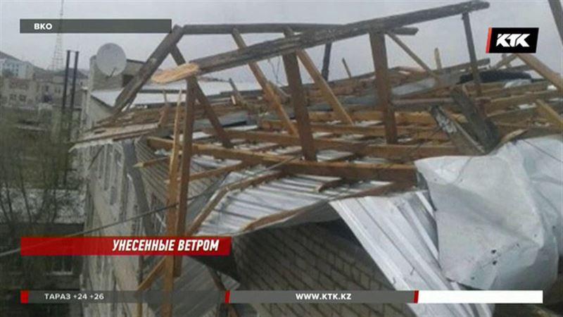 В ВКО три школы остались без крыши