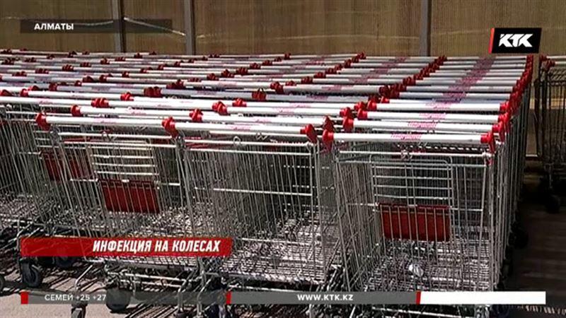 Тележки в супермаркетах могут быть опасны - специалисты