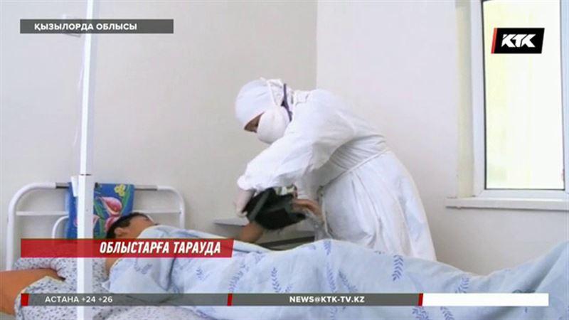 Қызылорда облысында менингит дертіне шалдыққан бір адам анықталды