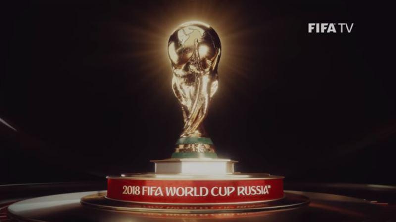 Опубликован официальный ролик чемпионата мира в России