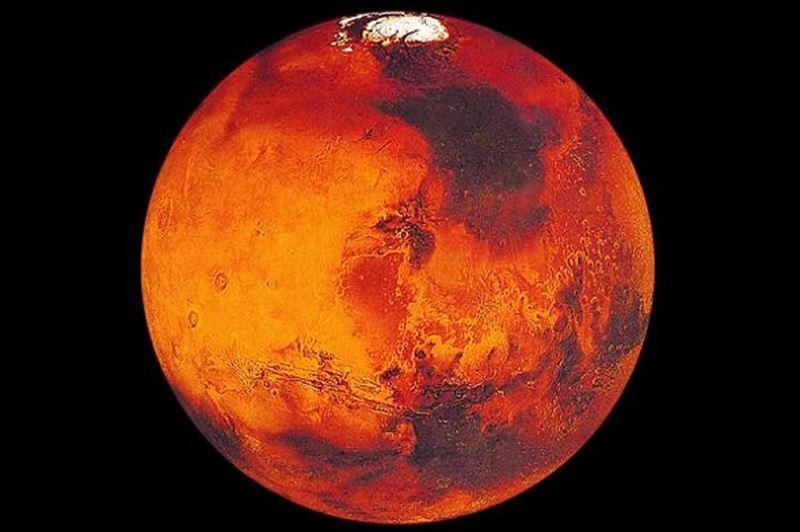 Призрак рыжего кота на Марсе сфотографировал спутник