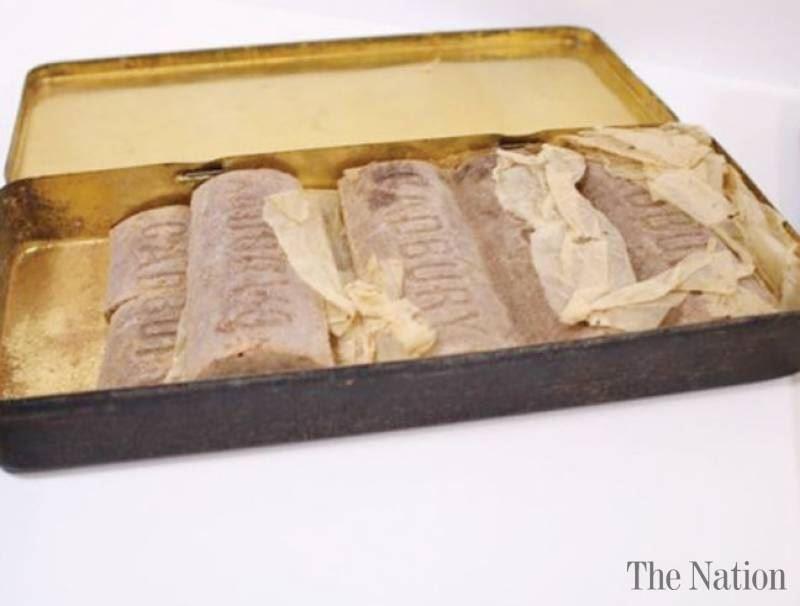 В Великобритании продадут с аукциона 103-летний шоколад