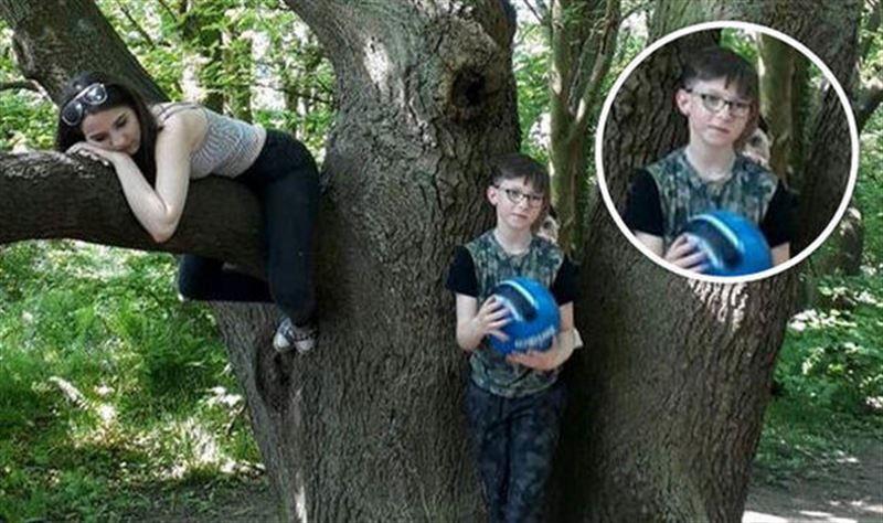 Призрак мальчика на фото привел женщину в ужас
