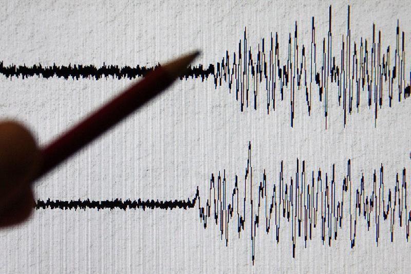 В Алматинской области произошло землетрясение магнитудой 4,8