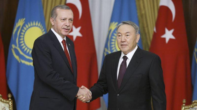 Состоялся телефонный разговор между Назарбаевым и Эрдоганом