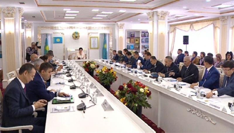 В Астане прошло заседание Республиканской комиссии по вопросам государственных символов
