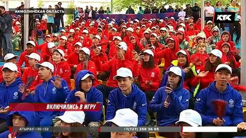 «Sports Fest Kazakhstan» проходит в Щучинске