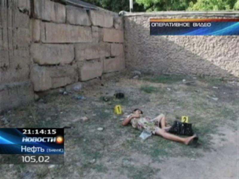 В Шымкенте шальная пуля оборвала жизнь молодой женщины
