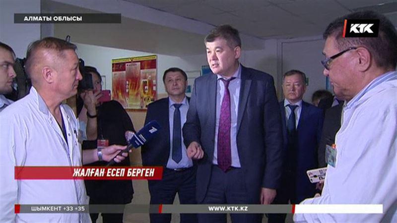 Алматы облысында дәлізге жатқызылған  науқастардың жайы Біртановты  шошытты