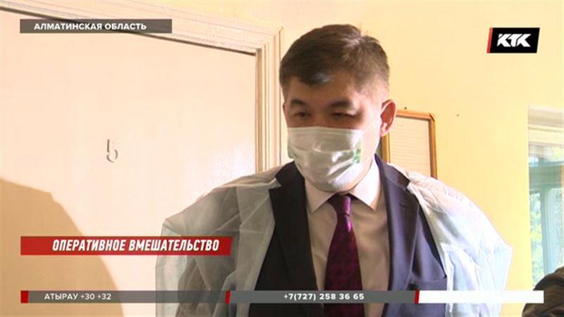 Министр здравоохранения распорядился закрыть инфекционную больницу в Алматинской области