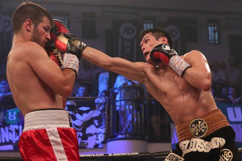 Боксер Данияр Елеусинов одержал вторую победу на профессиональном ринге