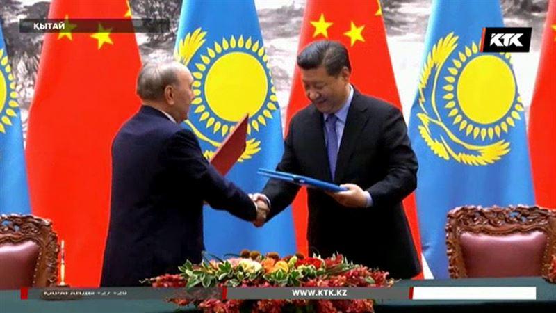 Қытайдан арнайы репортаж: Нұрсұлтан Назарбаев пен Си Зиң Пин бірнеше ірі жобаны қолға алды