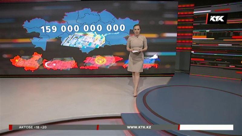 159 миллиардов тенге вывели из Казахстана за год