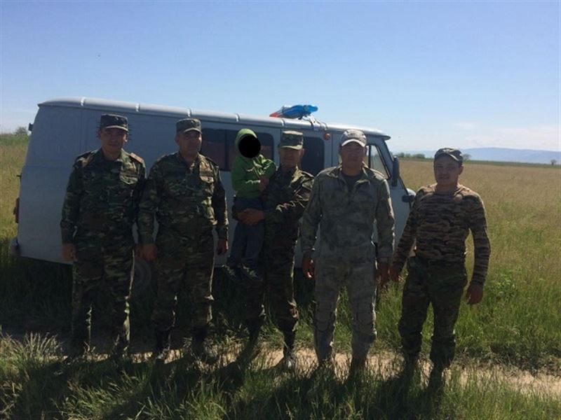 Пропавшего шестилетнего ребенка отыскали в Алматинской области