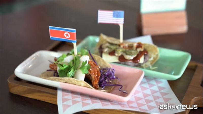 «Трамп-Ким» бургеры и тако готовятся в ресторанах Сингапура