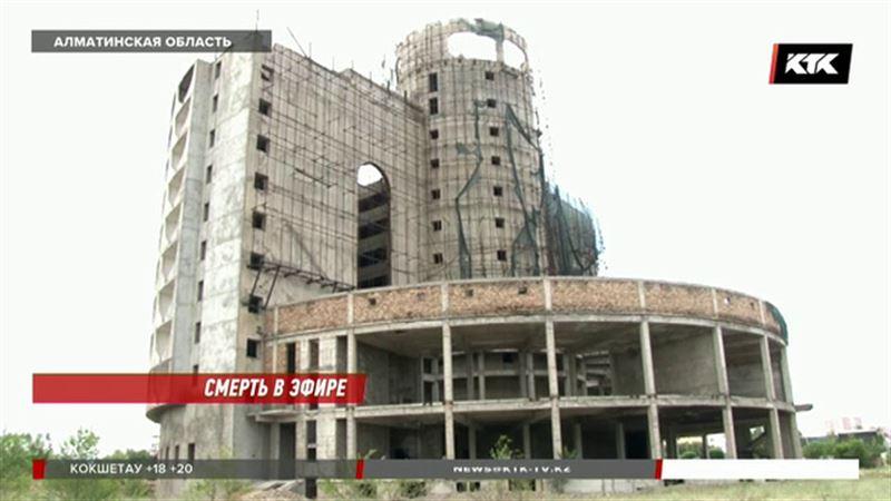 В Талдыкоргане с высоты 8 этажа сорвалась и погибла девушка