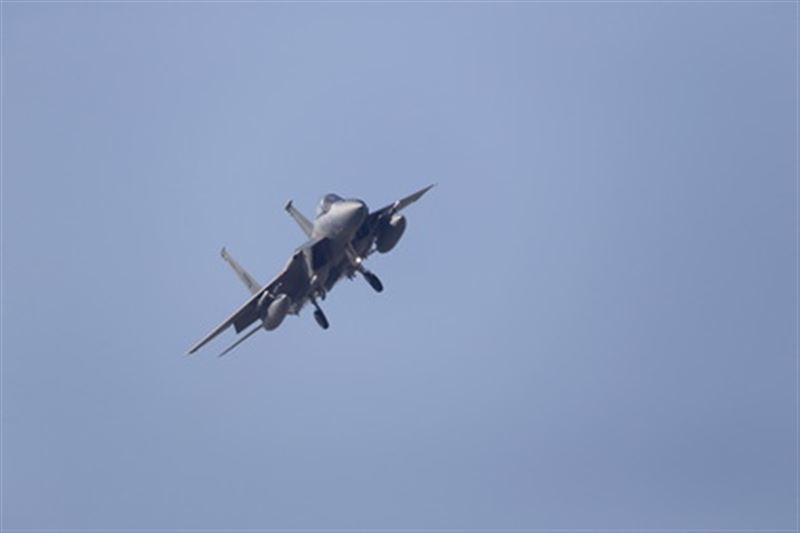 Истребитель ВВС США разбился на Окинаве