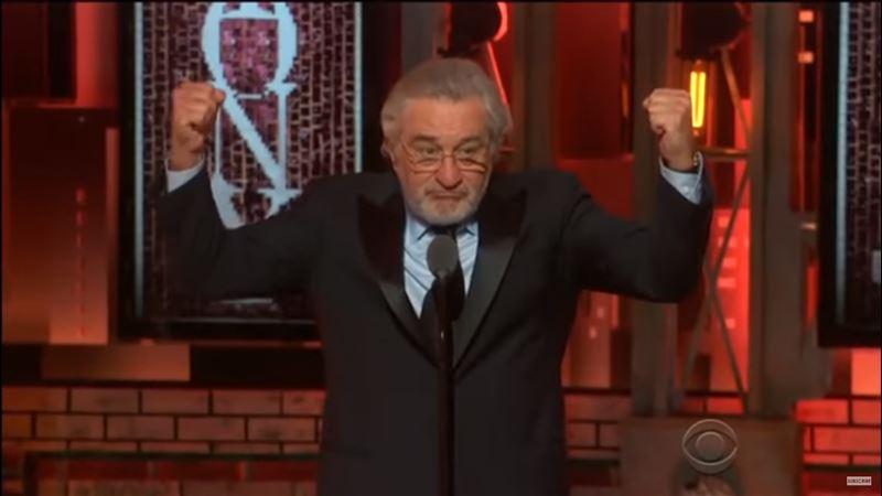 Де Ниро обругал Трампа в прямом эфире и сорвал аплодисменты