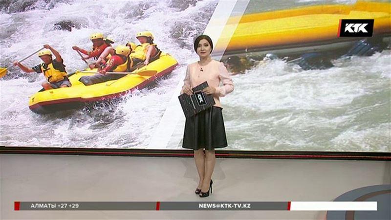 Алматы облысында адреналин іздеп келген туристер суға батып кетті
