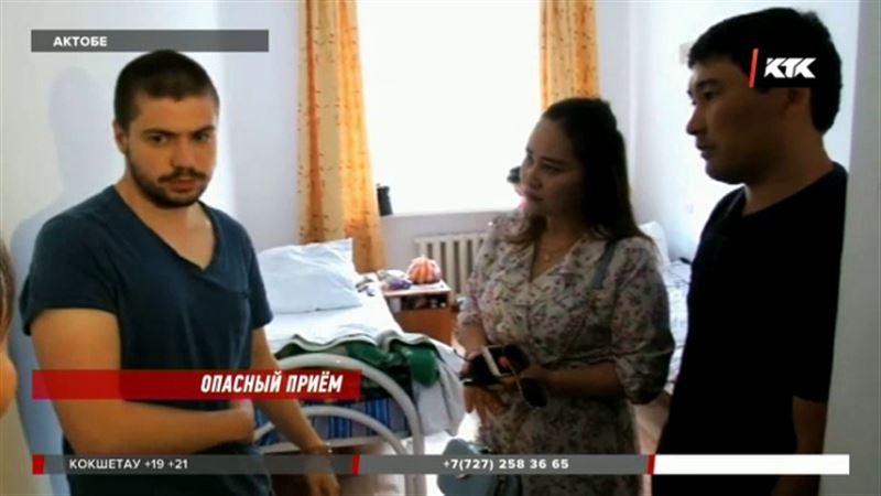 В Актобе пациент кинулся на врача с ножом
