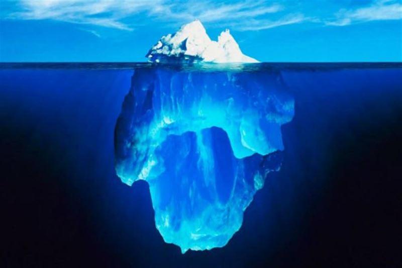 Ғаламшардағы ең ірі айсбергтің бірі еріп жатыр