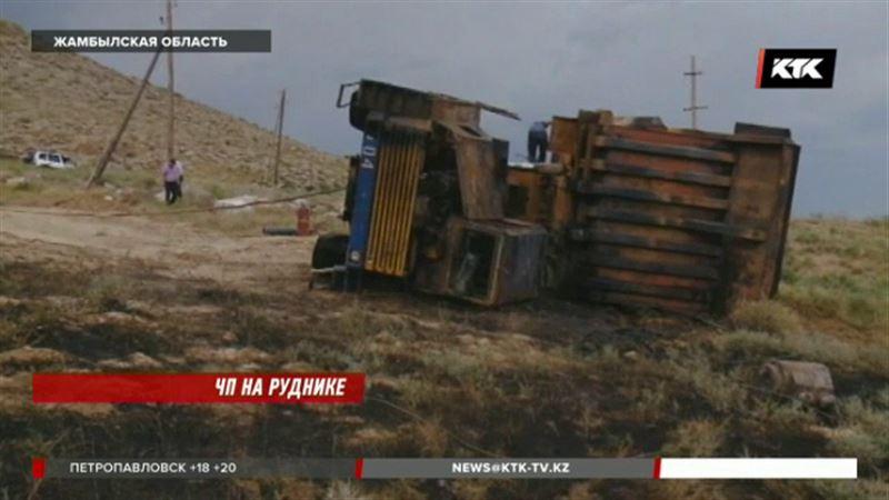 От удара током погиб рабочий в Жамбылской области