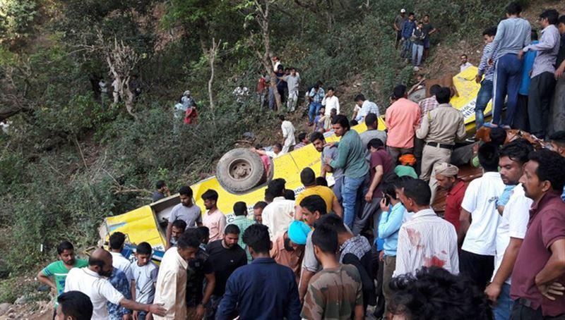 В ДТП с автобусом в Индии погибли 17 человек