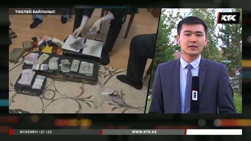 Жемқорлыққа қарсы ұлттық бюро Қарашев пен Мұқановты ұстау сәтіндегі видеосын жариялады