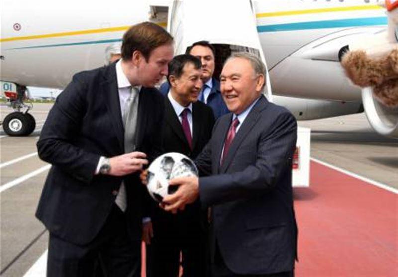 Назарбаев ӘЧ ашылу салтанатына қатысу үшін Ресейге барды
