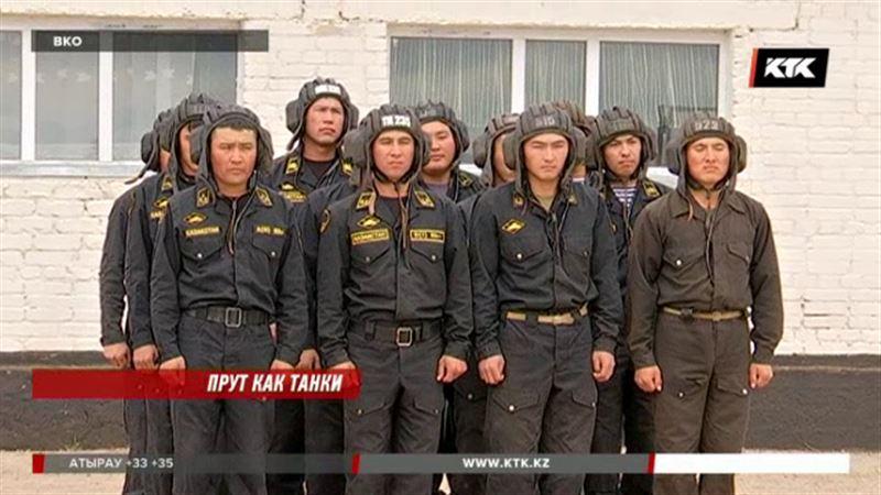 Казахстанские танкисты готовятся к биатлону