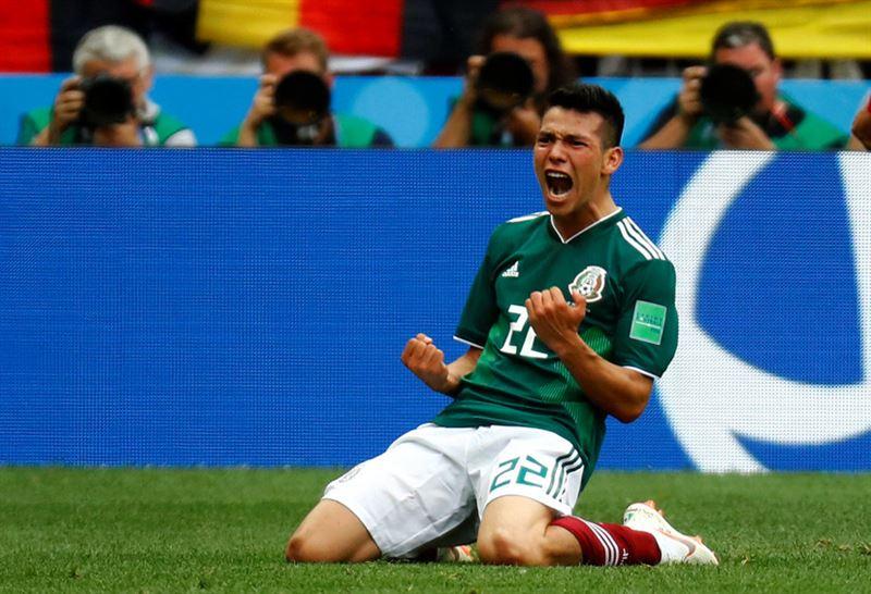 Германия проиграла Мексике в своем первом матче ЧМ-2018 по футболу