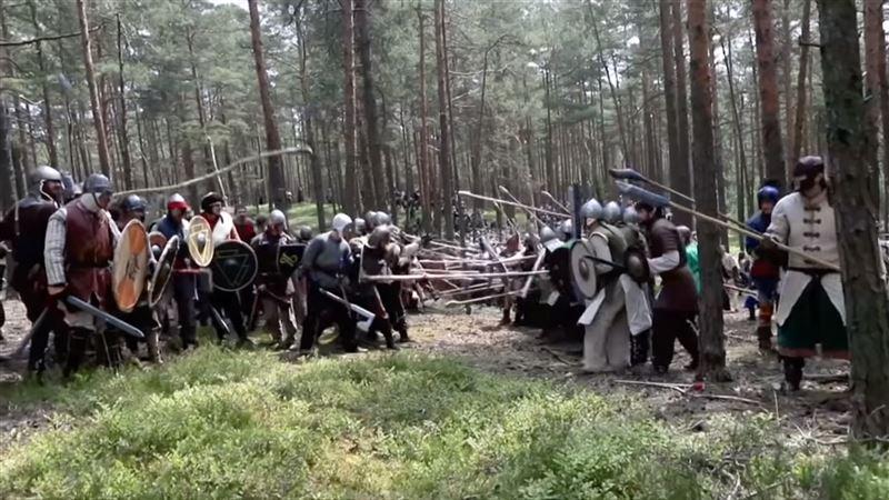 В чешском лесу воссоздали Битву пяти воинств из «Хоббита»