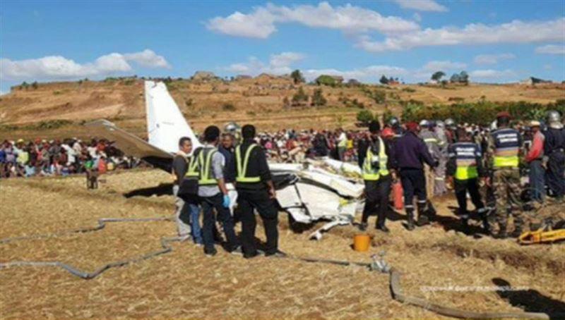 Самолет потерпел крушение на Мадагаскаре. Есть жертвы