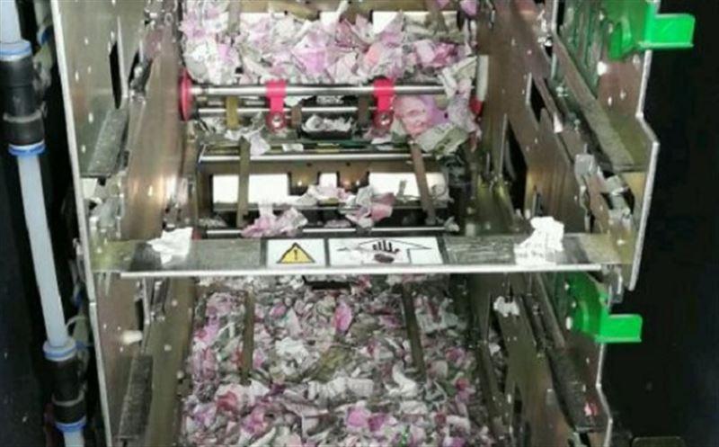 В Индии мыши уничтожили 1 000 000 рупий в банкомате