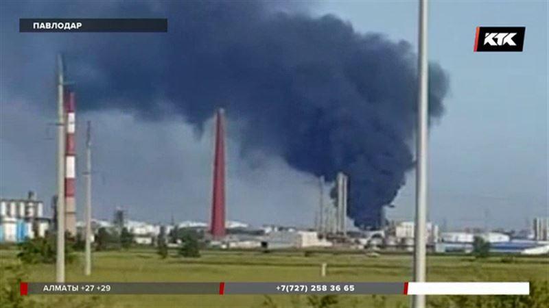 Павлодарцы гадают, что за дым в районе нефтехимического завода