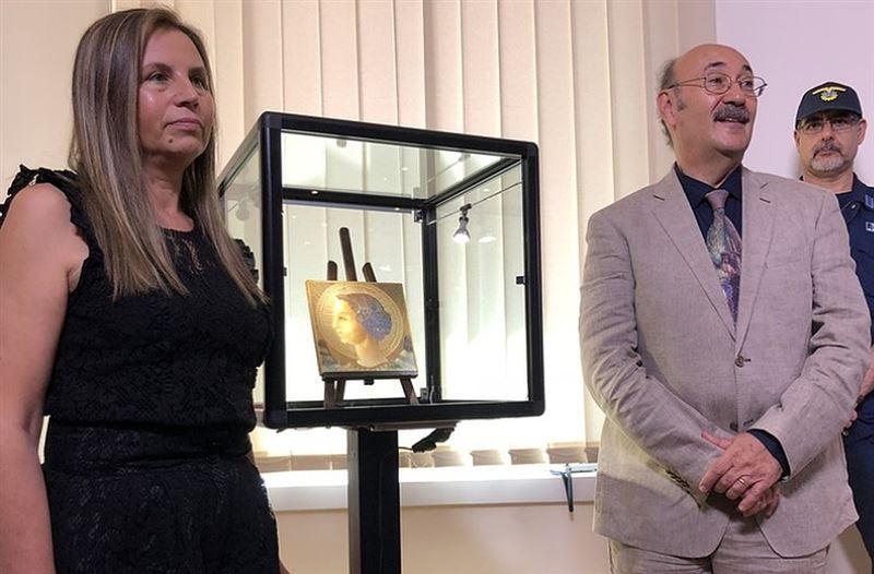 В Риме впервые показали самую раннюю работу Леонардо да Винчи