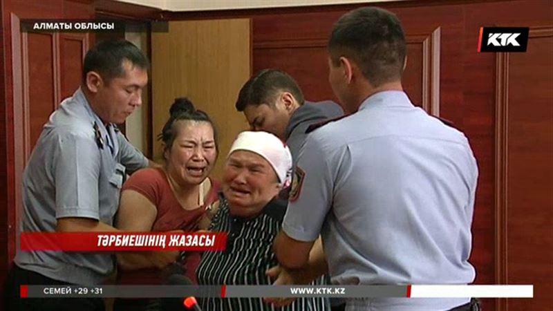 Алматы облысында жарымжан баланы азаптап өлтірген келіншекке үкім шықты