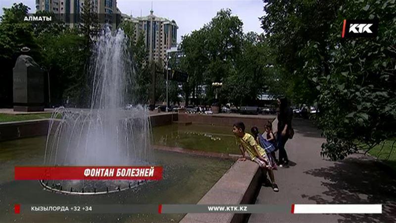 Энтеровирусы, легионеллы, аскариды могут быть в фонтанах Алматы