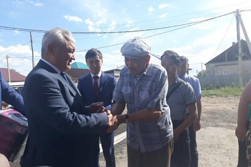 ФОТО: Семейде су тасқынынан зардап шеккендерге пәтер берілді