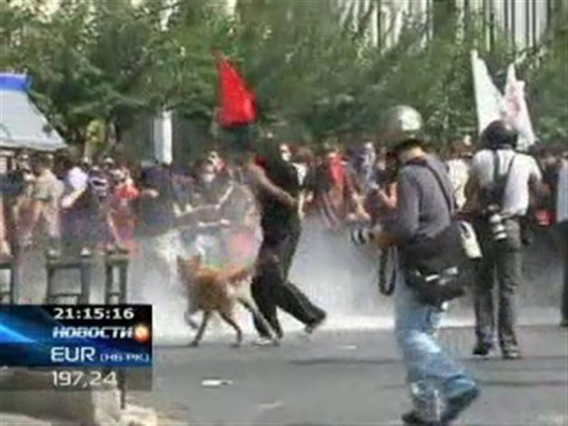 Греция парализована забастовками
